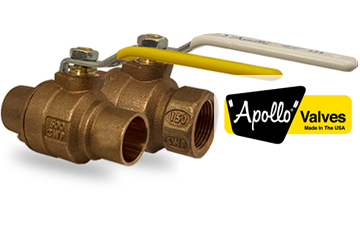 Apollo Valves, American Made Success since 1928.